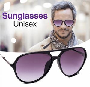 A&H Sunglasses Unisex Black, AH2814