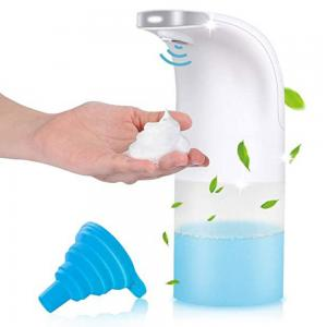 Hand Sanitizing Foam Device With Automatic Sensor