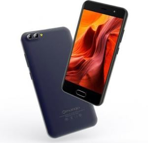 Gmango X1 4G Smartphone, 5.5 inch HD Display,Android 7.1,3GB RAM,32GB Storage, Quad Core, Dual SIM, Dual Camera - Black