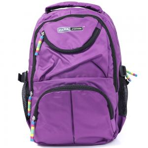 Para John Backpack Bag Color Dark Purple 14x18.5 Inch, PJBP6569A19