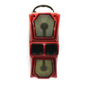Heavy Duty Super Bass Magic Lights Stereo Wireless Bluetooth Speaker Supports Micro SD, FM Radio And USB Support, JBK-8813