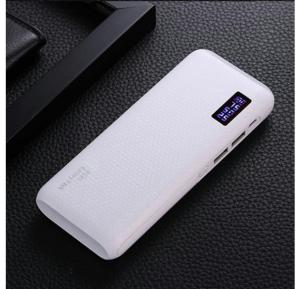 Smart 10000 mAh Quick Charging Turbo Power Bank For Smartphones & Tablets With 20CM Micro USB Cable White