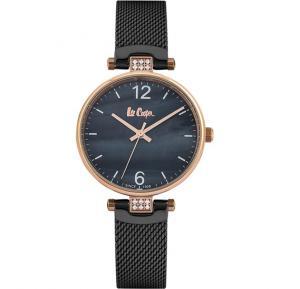 Lee Cooper LC06587.450 Ladies Stainless Steel Watch - Black