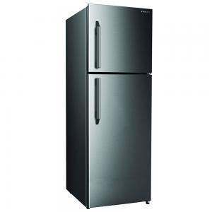 Nikai Double Door Frost Free Refrigerator 400 Liters, Silver, NRF400FN4SS