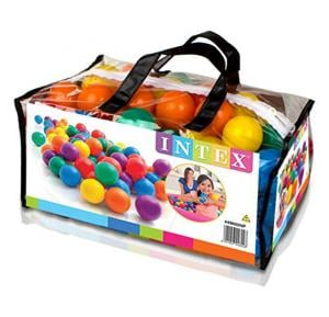 Intex-Small fun ballz  (Ball-100pcs), Ages 2+, Carry Bag,49602