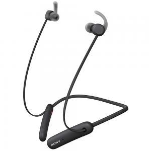 Sony Sport Wireless Headphone Extra Bass In Ear Headphone With 15 Hours Battery, WI-SP510, Black