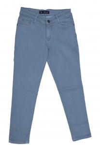 Zola Ladies Denim Jeans,Gray- ZO6874
