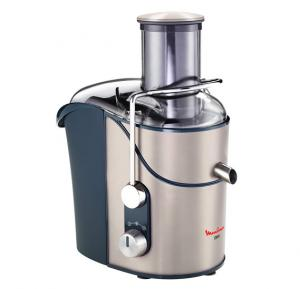Moulinex JU655H27 Juice Extractor 1200W - Xxl Feed Tube -  Pulp Container - Safety Lock - Silver Color