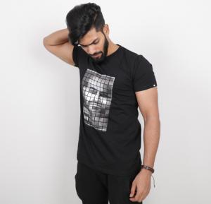 Kenyos Mens Tshirt Black - KAABE14919X - M