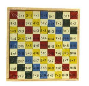 Wooden Learning Puzzle - 204-020