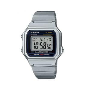 Casio Digital wrist watch Stainless Steel Unisex  B-650WD-1ADF