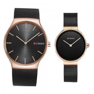 Curren pair watches Black