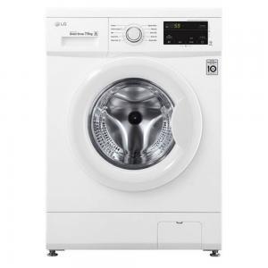 LG Fully Automatic Front Loading Washing Machine, 7kg, White