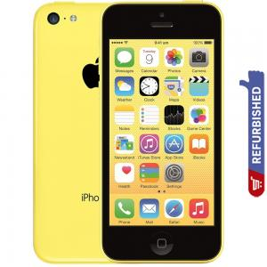 Apple iPhone 5C Yellow 32GB Storage, Refurbished