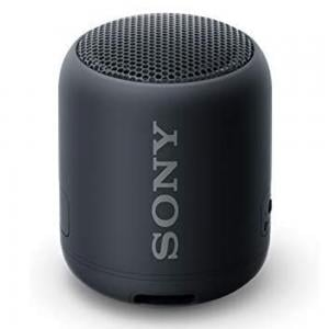 Sony Waterproof Portable Bluetooth Speaker SRSXB12, Black