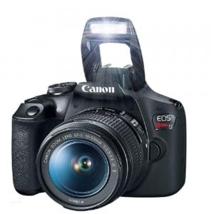 Canon EOS 2000D Digital SLR Camera 18-55mm 24.1MP CMOS Sensor Full Hd