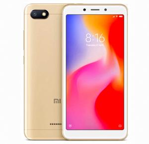 Xiaomi Redmi 6A, Dual SIM, 32GB, 2GB RAM, 4G LTE, Gold (Global Version)