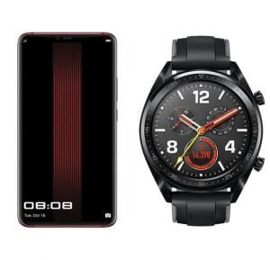2 In 1 Huawei Mate 20 Rs Dual Sim 512gb Porsche Red With Free Watch