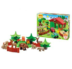 Ecoiffier - Abrick Forest House Play Set, 03040