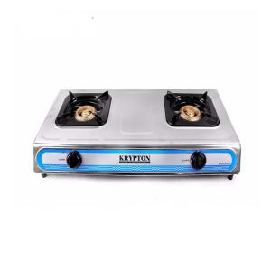 Krypton Stainless Steel Double Gas Stove, KNGC6034N