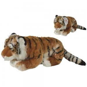 Nicotoy 50cm Tiger with Beans Stuffed Toy  Brown, 6305851526