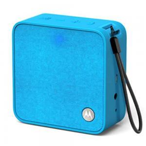 Motorola Sonic Boost 210 Portable Wireless Bluetooth Speaker Compatible With Siri, Alexa And Google, Blue