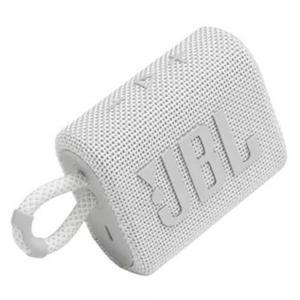 JBL GO 3 Portable Bluetooth Speaker White