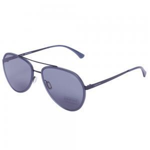 Jaguar 37585 Black Aviator Sunglasses, Size 56