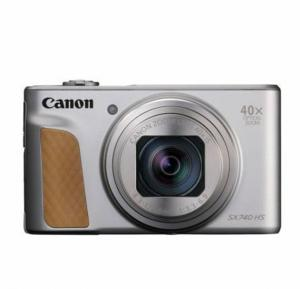 Canon Powershot SX740-HS Silver DSLR Camera