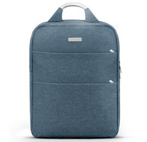 Promate Business Laptop Backpack,Travel Anti-Theft Slim 15.6 Inches Computer Backpack, Nova-BP.Blue