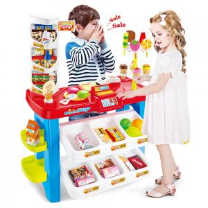 Beibe Good 40 Pcs Dessert Shop Play All Kinds of foods, 668-21