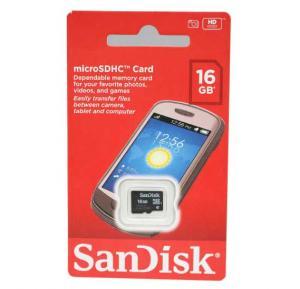SanDisk Ultra Micro SD Card, 16 GB