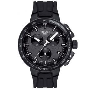 Tissot T-Race Cycling Chronograph Black Dial Mens Watch