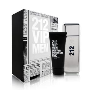 Carolina Herrera 212 Gift Set EDT 100ml and Body Gel 200ml For Men
