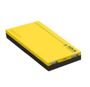 Promate Power Bank Cloy-16 Yellow with 4A Output Fast Charge