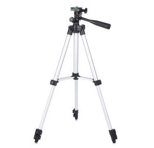 Professional 3110 Portable & Foldable Tripod Stand with Clip bracket holder for Mobile, Camera and go pro Flexible Mount with Three-dimensional Head