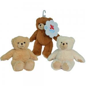Nicotoy  Sitting Bear 13cm 3 Assorted, 6305817466