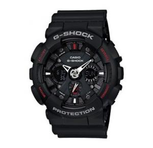 Casio G-Shock Analog-Digital Black Dial Mens Watch-GA-120-1ADR