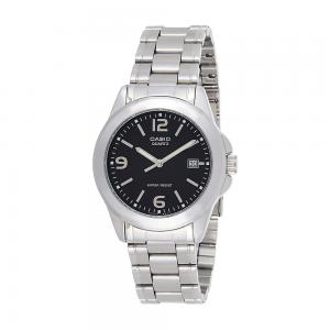 Casio Mens Silver Stainless Steel Watch, MTP-1215A-1ADF