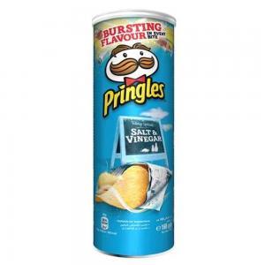 Pringles Salt & Vinegar 165gm, 42102