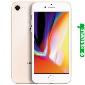 Apple iPhone 8 With FaceTime Gold 64GB 4G LTE Renewed- S