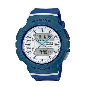 Casio Baby g Analog-Digital White Dial Womens Watch, BGA-240-2A2DR