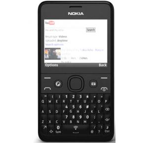 Nokia Asha 210 Mobile Phone, 2.4 Inch Display, 64MB Storage, FM Radio, Bluetooth, Camera - Black