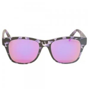 Italia Independent 0901.144.000 Unisex Wayfarer Shape Sunglasses Army Desined Acetate Frame
