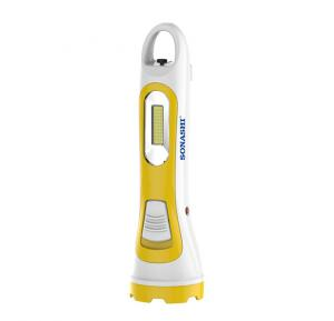 Sonashi Rechargeable Led Torch Yellow, SPLT-107