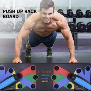 18 in1 Push Up Rack Board System Fitness Workout Training Gym Exercise Stands
