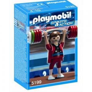 Playmobil Weightlifter, 5199