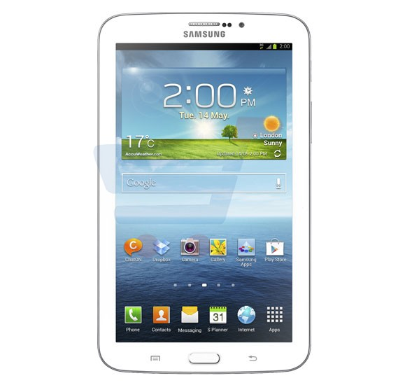 Samsung Galaxy Tab 3 Lite SM T113, 7 Inch Tablet, 3G, Android, 8GB Storage, 1GBRAM, Quad-core 1.3 GHz, Camera, WiFi - White