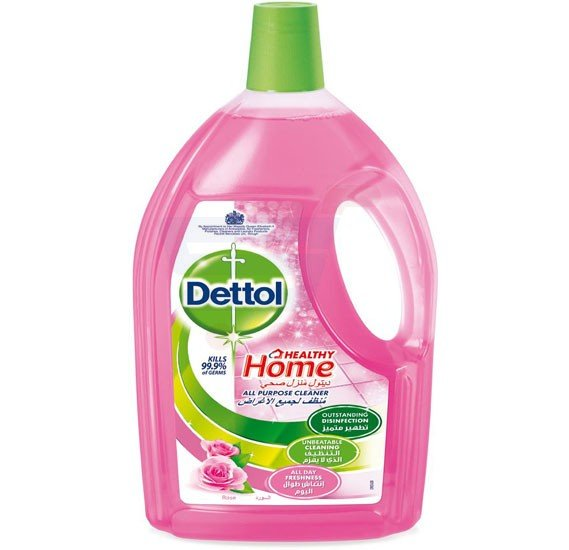 Dettol Rose Fragrance Healthy Home All Purpose 4 in 1 Multi Action Cleaner 3L