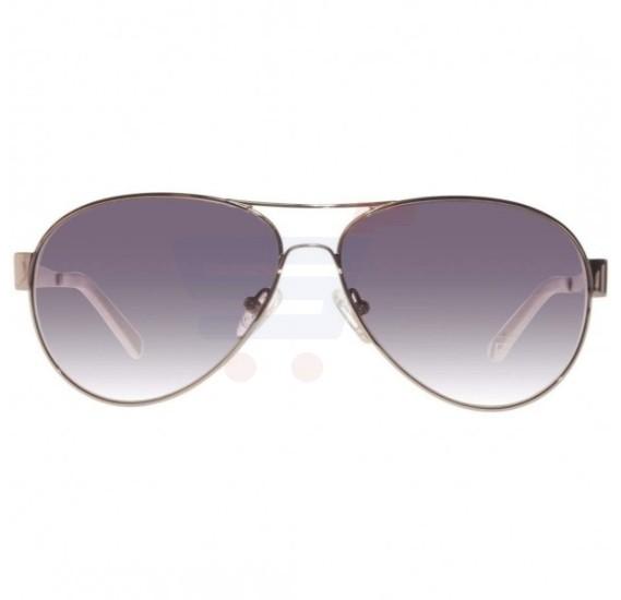 07862548b6 Buy Guess Aviator Silver and White Frame   Grey Gradient Mirrored Sunglasses  For Men - GU6824-24B Online Dubai